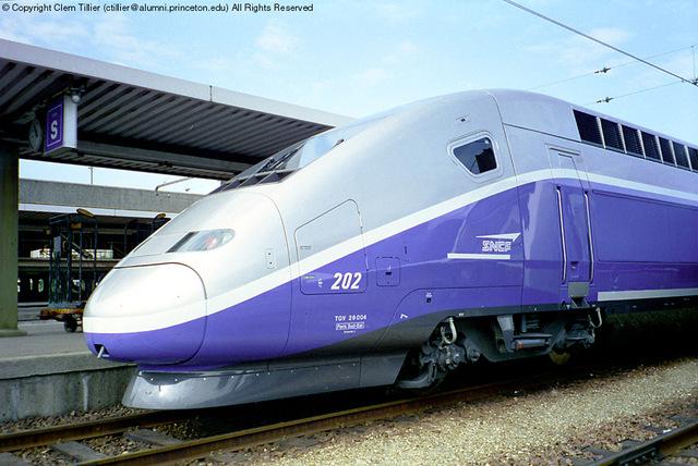 SNCF TGV train